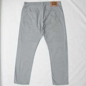 Levi's Jeans Mens 508 Gray Size 34X30 Tapered FiT
